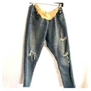 Jessica Simpson Maternity Jeans Size XL